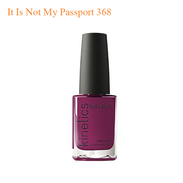 Kinetics – SolarGel Polish – It Is Not My Passport 368
