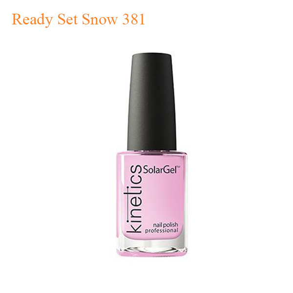 Kinetics – SolarGel Polish – Ready Set Snow 381