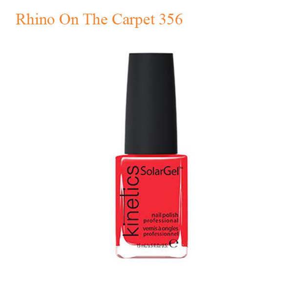 Kinetics – SolarGel Polish – Rhino On The Carpet 356
