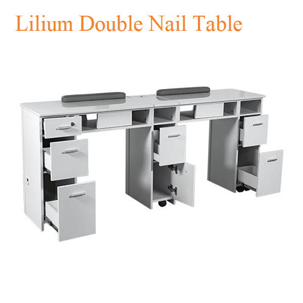 Lilium Double Nail Table – 72 inches