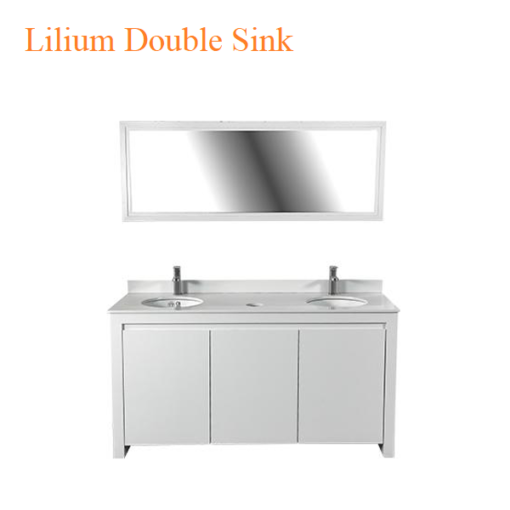 Lilium Double Sink – 64 inches
