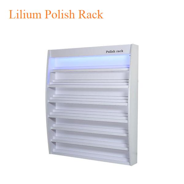 Lilium Polish Rack – 74 inches 3 - Top Selling