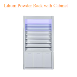 Lilium Powder Rack withCabinet – 48 inches