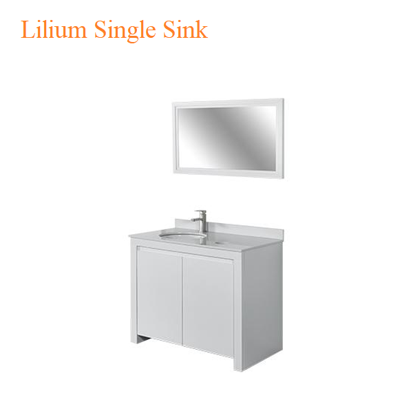 Lilium Single Sink – 40 inches
