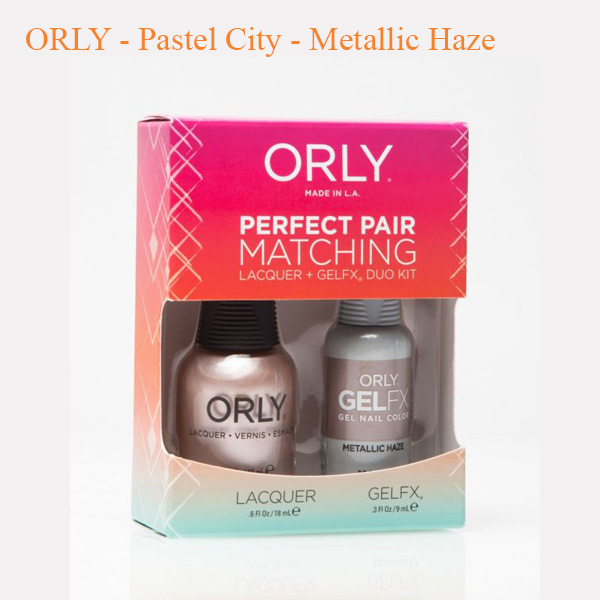 ORLY – Pastel City – Metallic Haze