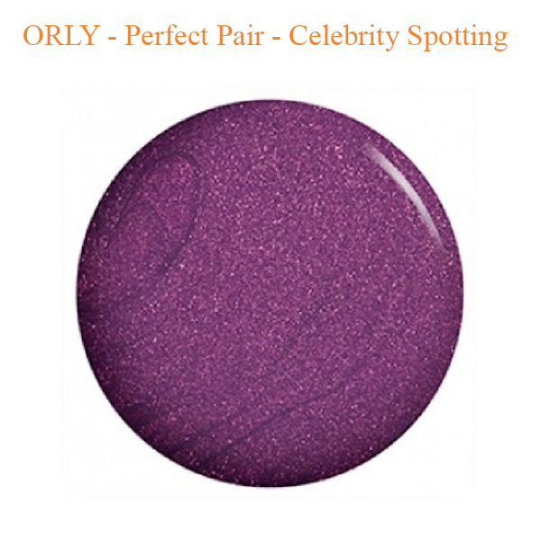 ORLY – Perfect Pair – Celebrity Spotting