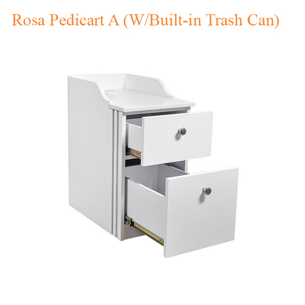 Rosa-Pedicart A (W-Built-in Trash Can) – 24 inches