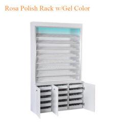 Kệ Tủ Đựng Nước Sơn Rosa (w/LED Light) – 80 Inches