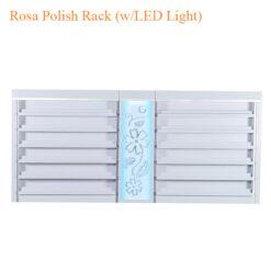 Rosa Polish Rack (w/LED Light) – 84 inches