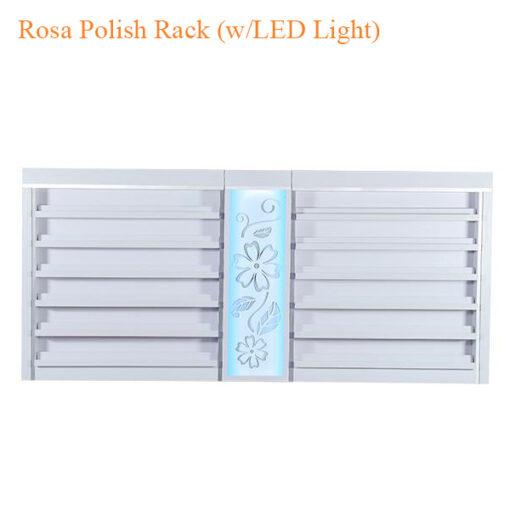 Kệ Trưng Bày Nước Sơn Rosa (w/LED Light) – 84 Inches