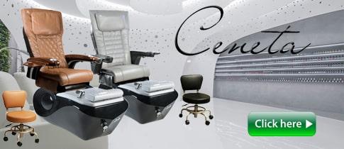 qc - Pedicure Spa, Nail Table, Furniture & Equipment