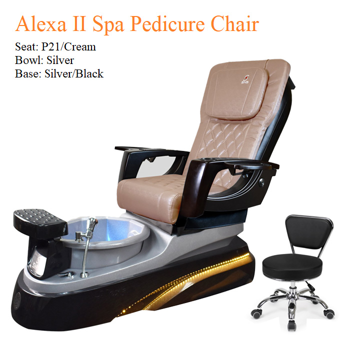 Alexa II Spa Pedicure Chair with Magnetic Jet – Smart Control High Quality
