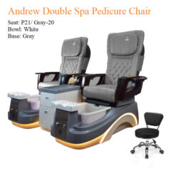 Andrew Double Luxury Spa Pedicure Chair with Magnetic Jet – Smart Control High Quality 3 247x247 - All Best Deals