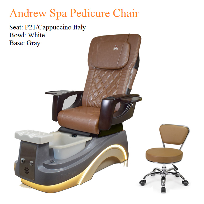 Andrew Luxury Spa Pedicure Chair with Magnetic Jet – Smart Control High Quality 2 - All Best Deals