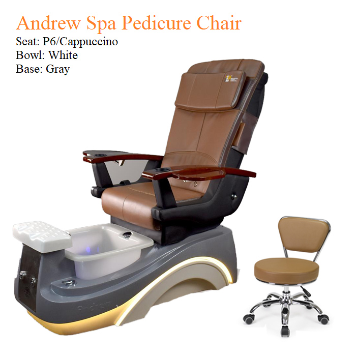 Andrew Luxury Spa Pedicure Chair with Magnetic Jet – Smart Control High Quality