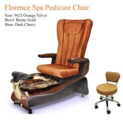 Florence Luxury Spa Pedicure Chair with Magnetic Jet – Shiatsu Massage System 247x247 - Equipment nail salon furniture manicure pedicure
