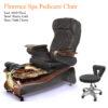 Venice Luxury Spa Pedicure Chair with Magnetic Jet – Shiatsu Massage System