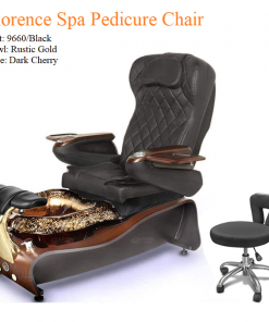 Florence Luxury Spa Pedicure Chair with Magnetic Jet – Shiatsu Massage System