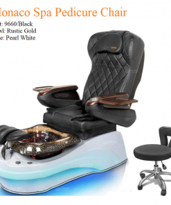 Monaco Luxury Spa Pedicure Chair with Magnetic Jet – Shiatsu Massage System