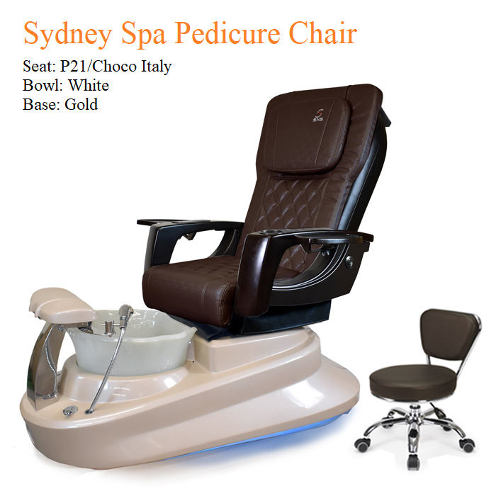 Sydney Luxury Spa Pedicure Chair with Magnetic Jet – High Quality