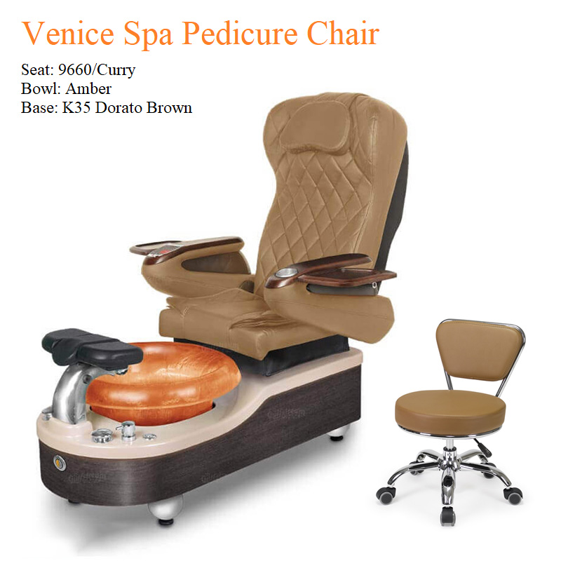 Venice Luxury Spa Pedicure Chair with Magnetic Jet – Shiatsu Massage System