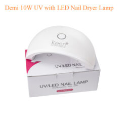 Demi 10W UV with LED Nail Dryer Lamp