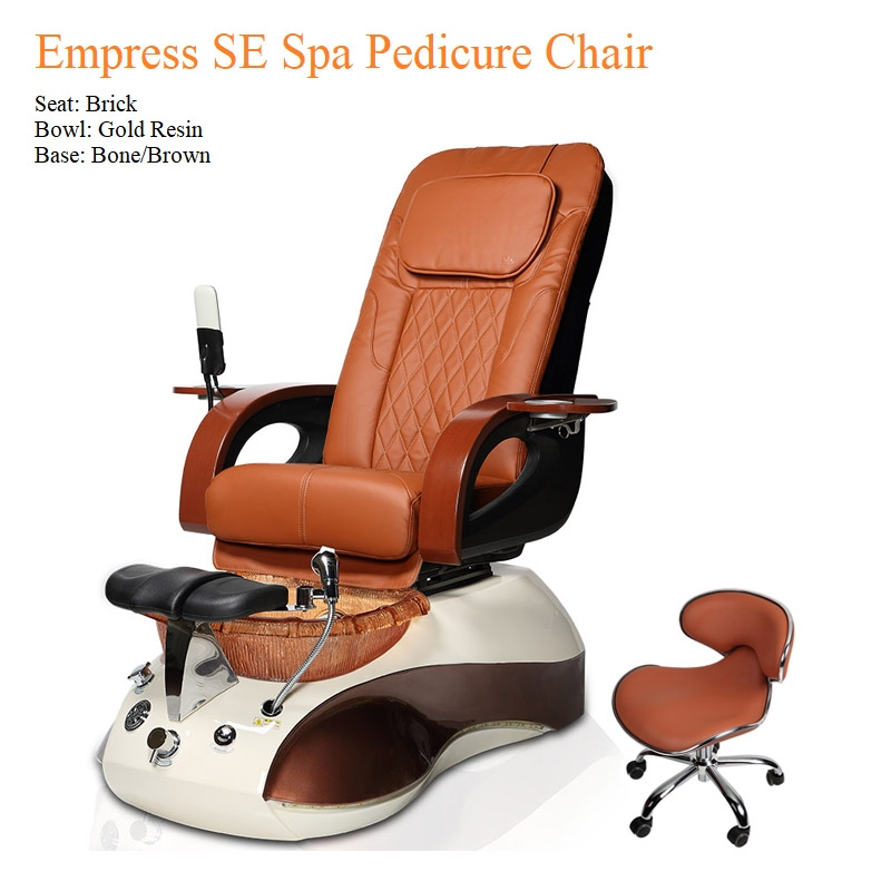 Empress SE Spa Pedicure Chair – High Quality with American-Made