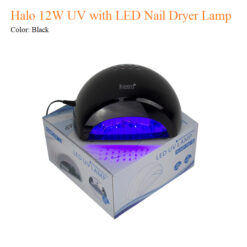 Halo 12W UV with LED Nail Dryer Lamp