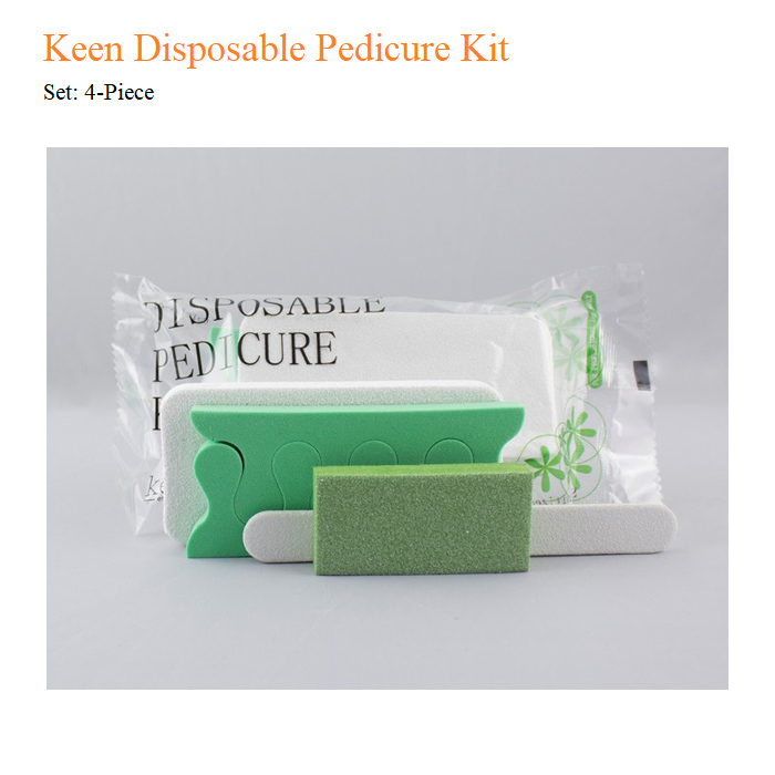 Keen Disposable Pedicure Kit