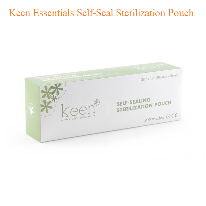 Keen Essentials Self-Seal Sterilization Pouch