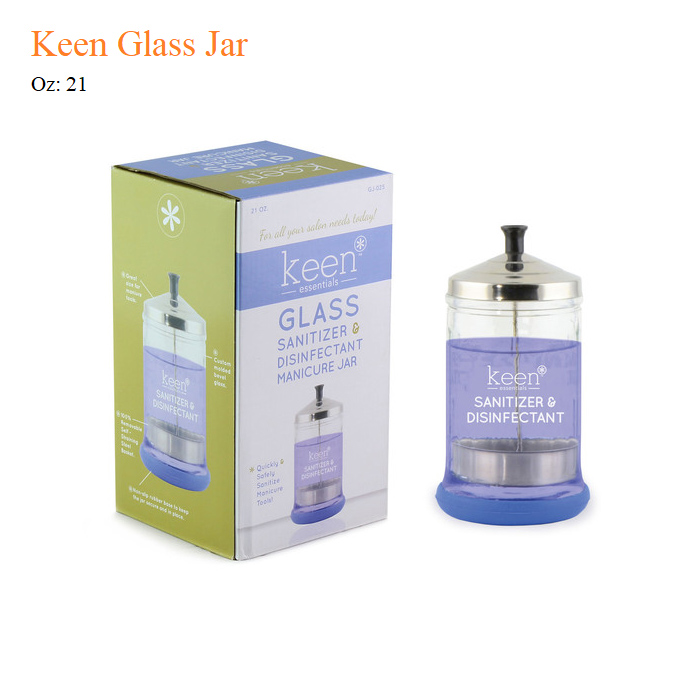 Keen Glass Jar