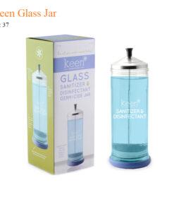 Keen Glass Jar