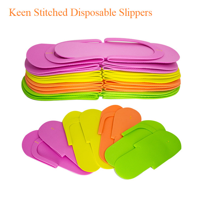 Keen Stitched Disposable Slippers