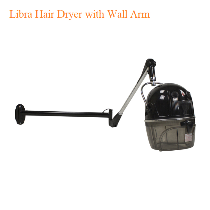Libra Hair Dryer with Wall Arm
