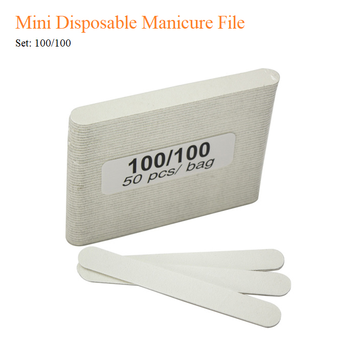 Mini Disposable Manicure File