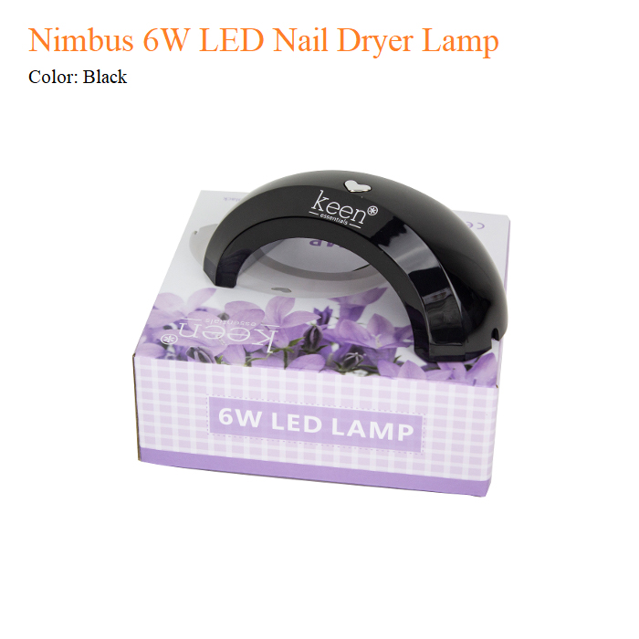 Nimbus 6W LED Nail Dryer Lamp