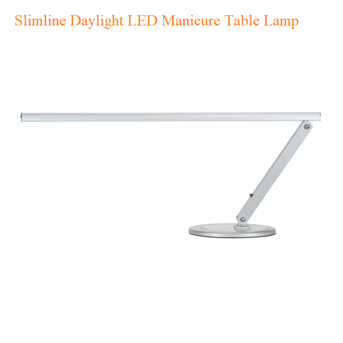 Slimline Daylight LED Manicure Table Lamp