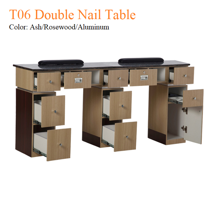 T06 Double Nail Table – 68 Inches