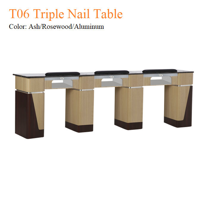 T06 Triple Nail Table – 97 Inches