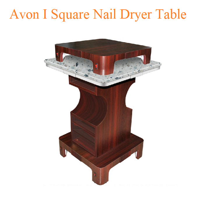 Avon I Square Nail Dryer Table