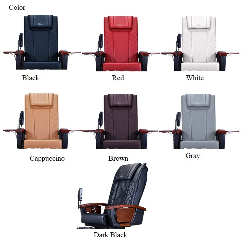 IQ A3 Light Smoky Spa Pedicure Chair with Magnetic Jet