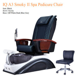 IQ A3 Smoky II Spa Pedicure Chair with Magnetic Jet