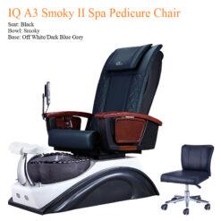 IQ A3 Smoky II Spa Pedicure Chair with Magnetic Jet 01b 247x247 - Equipment nail salon furniture manicure pedicure