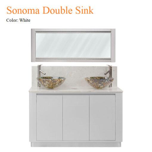 Bộ Tủ Rửa Mặt White Sonoma