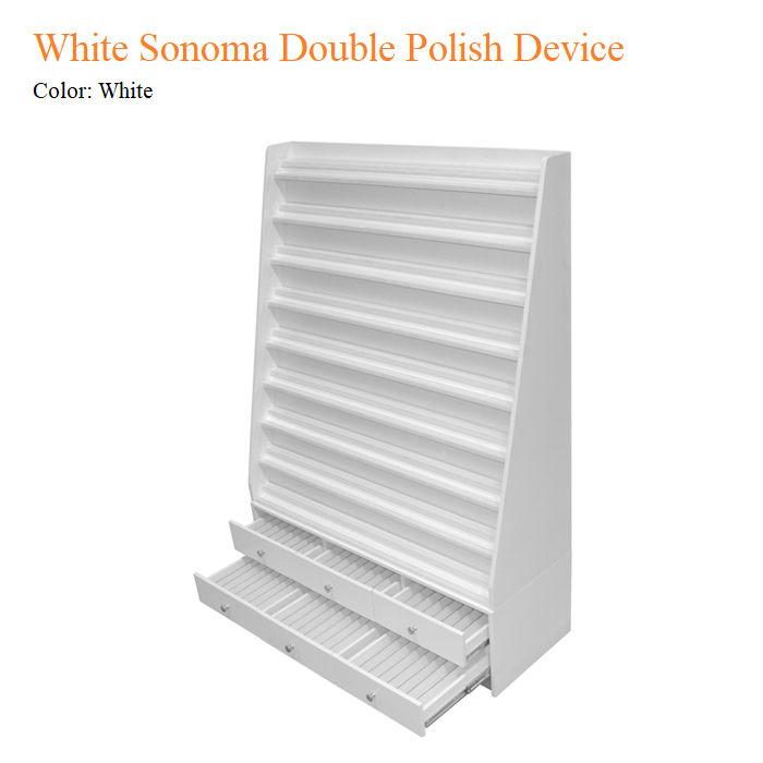 White Sonoma Double Polish Device
