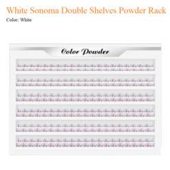 White Sonoma Double Shelves Powder Rack