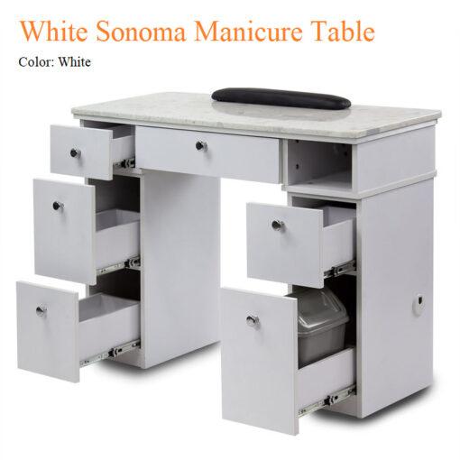 Bàn Nail White Sonoma