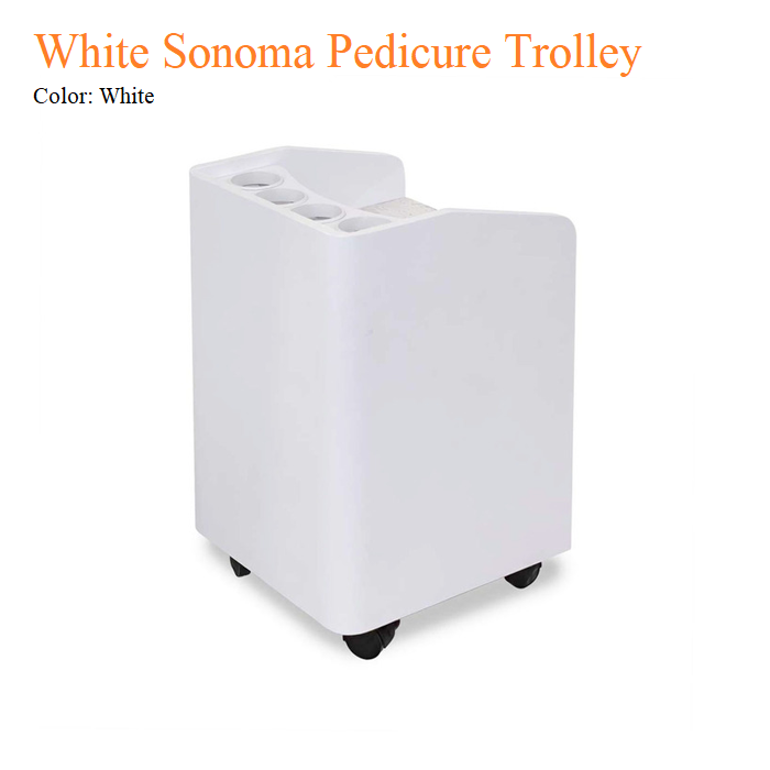 White Sonoma Pedicure Trolley