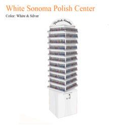 Kệ Tủ Trưng Bày Đứng Xoay 360 White Sonoma