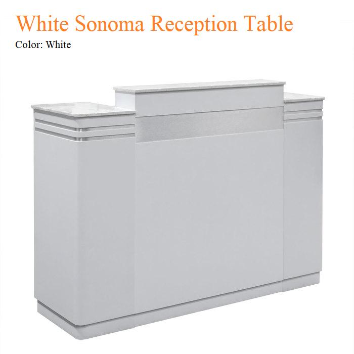 White Sonoma Reception Table
